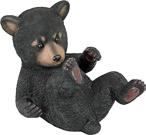Design Toscano Roly-Poly Bear Cub Statue