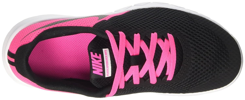 Amazon.com | Nike Girls Flex Experience 5 (GS) Running Shoe Pink Blast/Black/White Size 6 M US | Athletic