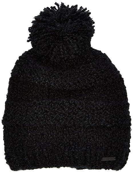 BILLABONG - Gorro de Punto para Mujer, Color Negro, Talla Talla ...