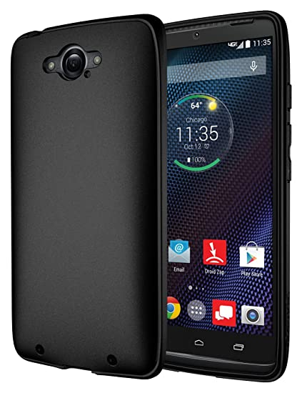 Droid Turbo Case, Diztronic Full Matte TPU Case for Motorola Droid Turbo (Fits Metallic