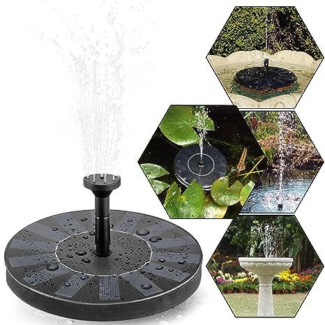 Fontaine solaire, tronisky Pompe à eau solaire Pompe flottante Eau ...
