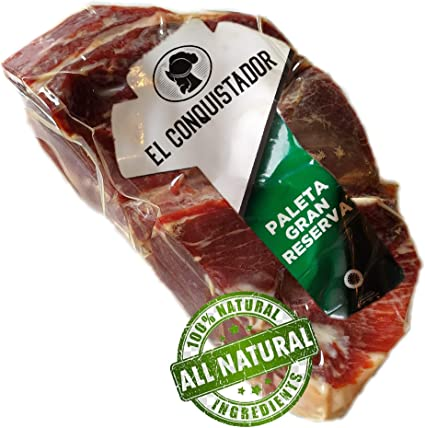 1.2 kg prosciutto spagnolo serrano reserva disossato 100% naturale