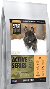 Cub Active Dog & Puppy, Peas & Poultry Free Buffalo Formula