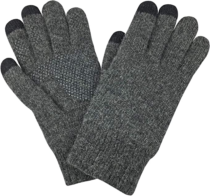 MERIWOOL Merino Wool Glove Liners Touchscreen Compatible