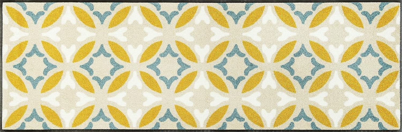 Wash+dry Viola Fußmatte, Acryl, beige, 60 x 180 x 0.7 cm