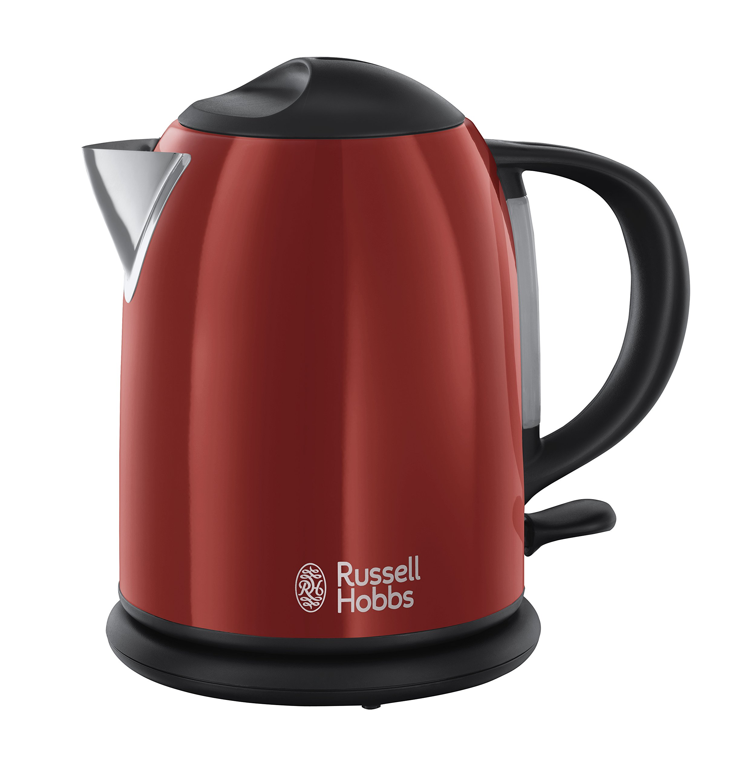 Russell Hobbs 20191-70 Colours Red - Hervidor de agua compacto, 1 l,