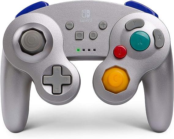 Mando Inalámbrico Gamecube, Color Gris (Nintendo Switch): Amazon.es: Videojuegos