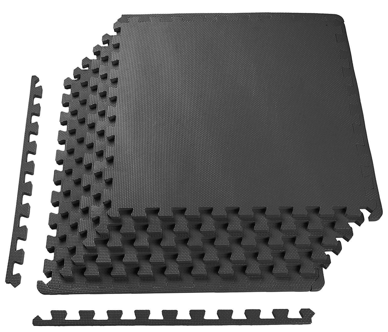 超人気 Puzzle Exercise Mat with EVA Foam Puzzle Interlocking Tiles 61cm (blue, 6枚セット 1.3cm 6枚セット, 12枚セット, 36枚セット Black/Gray/Blue トレーニング用ジョイントマット (blue, 12枚セット) B07BGJ56WJ black 6枚セット 6枚セット|black, フクシマク:4ad848f9 --- arianechie.dominiotemporario.com