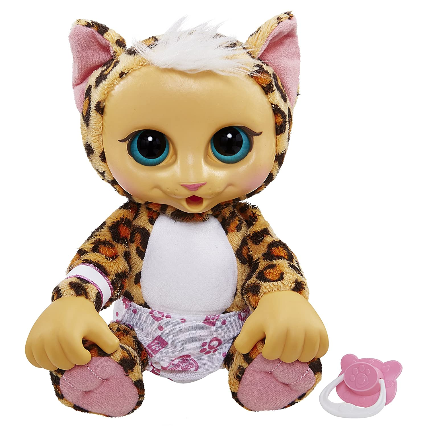 Amazon Animal Babies Baby Snow Leopard Plush Toys & Games
