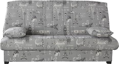 Relaxima 238bnati Edwin Banquette-Lit colchón Espuma pillotech by Dunlopillo Naciones 194 x 98 x 102 cm