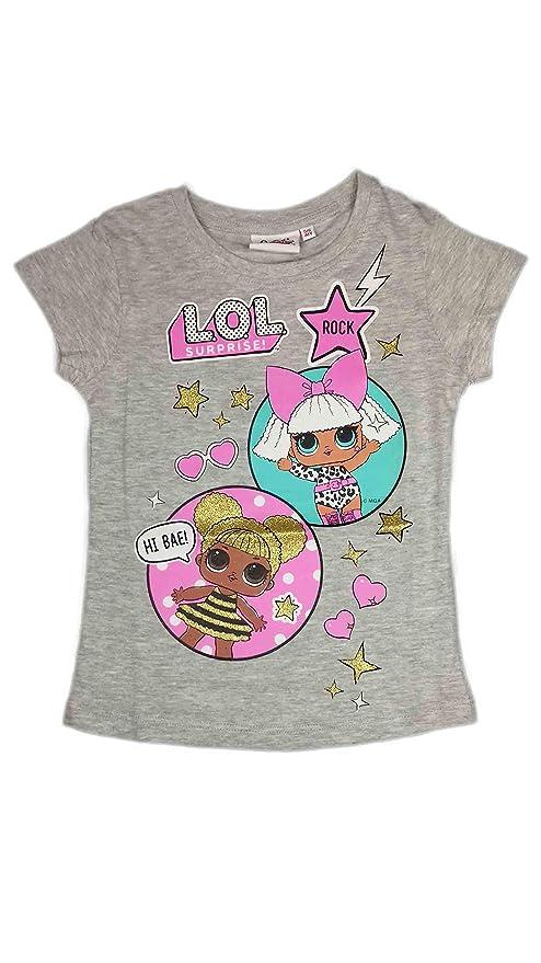L.O.L Surprise IT Baby e M.C BFF Fancy /& Fresh Maglietta per Bambina LOL Dolls con Le Bambole Rocker Vestiti Estivi per Ragazza Misto Cotone Diva Swag
