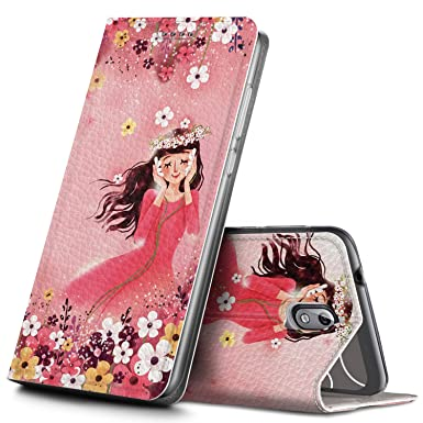 buy online 5f04a 19e33 Geemai Nokia 3.1/Nokia 3 2018 Case, Nokia 3.1/Nokia 3 2018 Cover [Card  Holder] [Magnetic Closure] Premium Leather Flip Wallet Case Cover for Nokia  ...