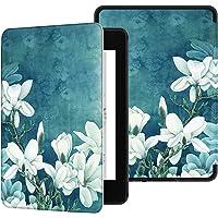 Ayotu Funda de Piel para Kindle Paperwhite-Funda Impermeable bellamente Pintada para Despertar/Dormir automáticamente…