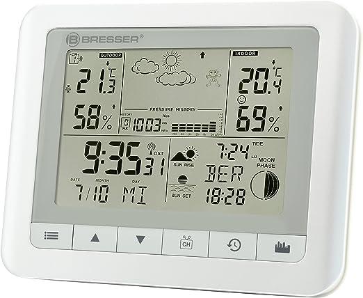 Bresser Estación meteorológica: Amazon.es: Jardín