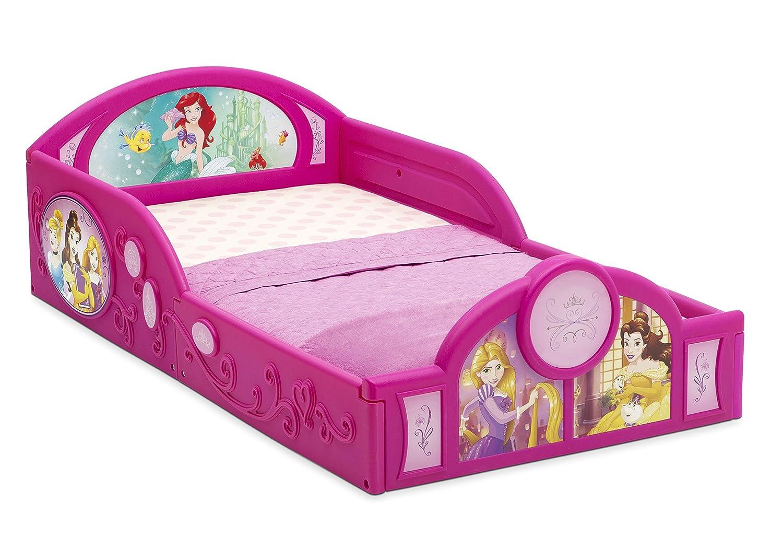 Delta Children Deluxe Disney Frozen Toddler Bed with attached guardrails BB86935FZ