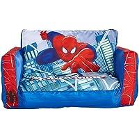 PEGANE Canapé lit Gonflable Spiderman en Polytser - Dim : 26 x 68 x 105 cm