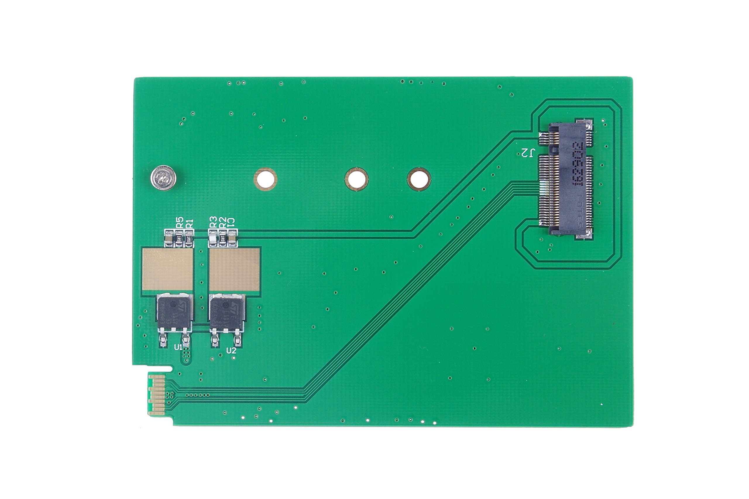 KNACRO M.2 NGFF SSD Adapter Card Replaces the WD5000MPCK WD5000M22K WD5000M21K Riser Card by KNACRO