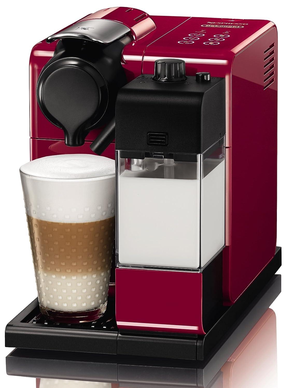 Nespresso EN550.R Cafetera, 1400 W, 1 Cups, De plástico, Rojo