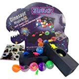 ZUBAT Dinosaur Magic Drawer Box, Magic Trick Dinosaur Ball Color Changing, Magic Toys and Party Favors for Kids Age 5+, Prank and Gag Toys for Children