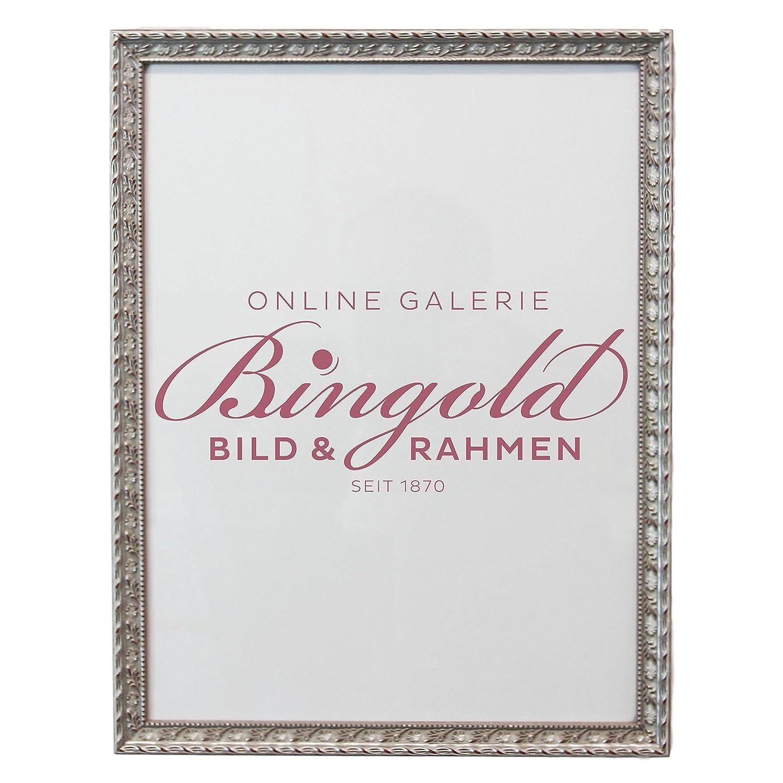 Amazon.de: Bilderrahmen Brescia Silber 2, 0-40 x 60 cm - LR - 500 ...