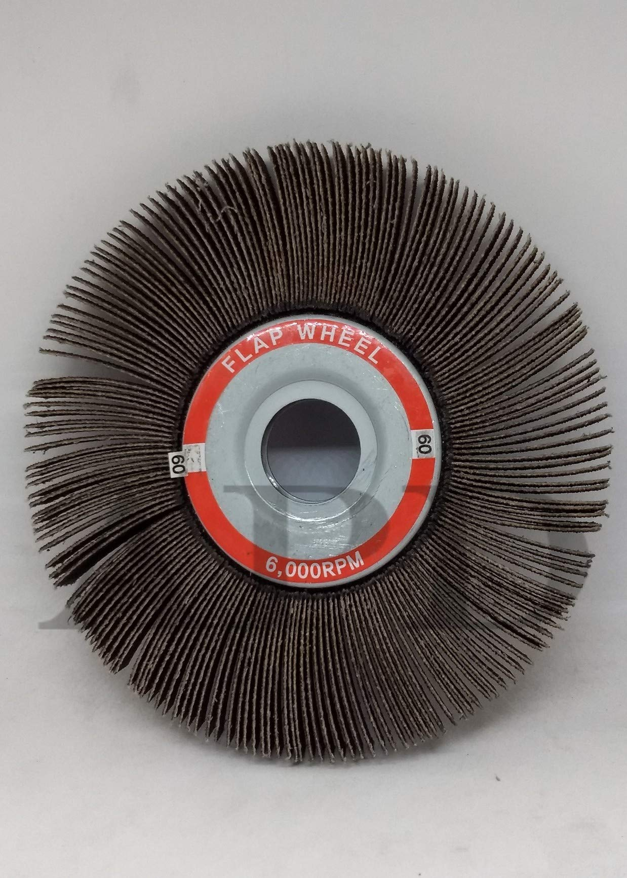 10-Pk Kelco Flap Wheel A/O 6 Inch X 1/2 Inch X 1 Inch 60 Grit by APD incorporated (Image #1)