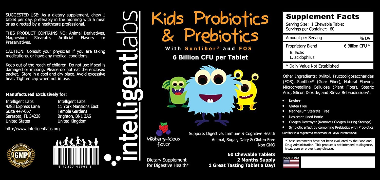 The value of probiotics and prebiotics for child health