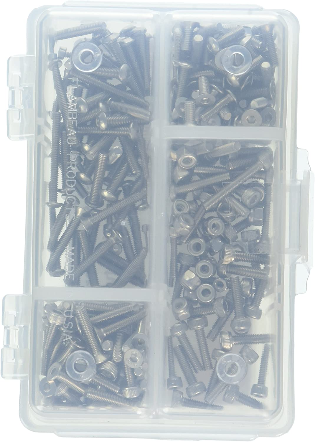 Dynamite DYNH3000 Stainless Steel Screw Set 2mm 3mm Variety Pack