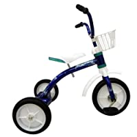 Piranha Firefly Classic Tricycle, para niños y niñas, Rojo, Rueda Delantera de 10 Pulgadas, Rueda Delantera de 12 Pulgadas