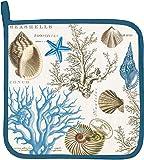 Michel Design Works Cotton Potholder, Seashore