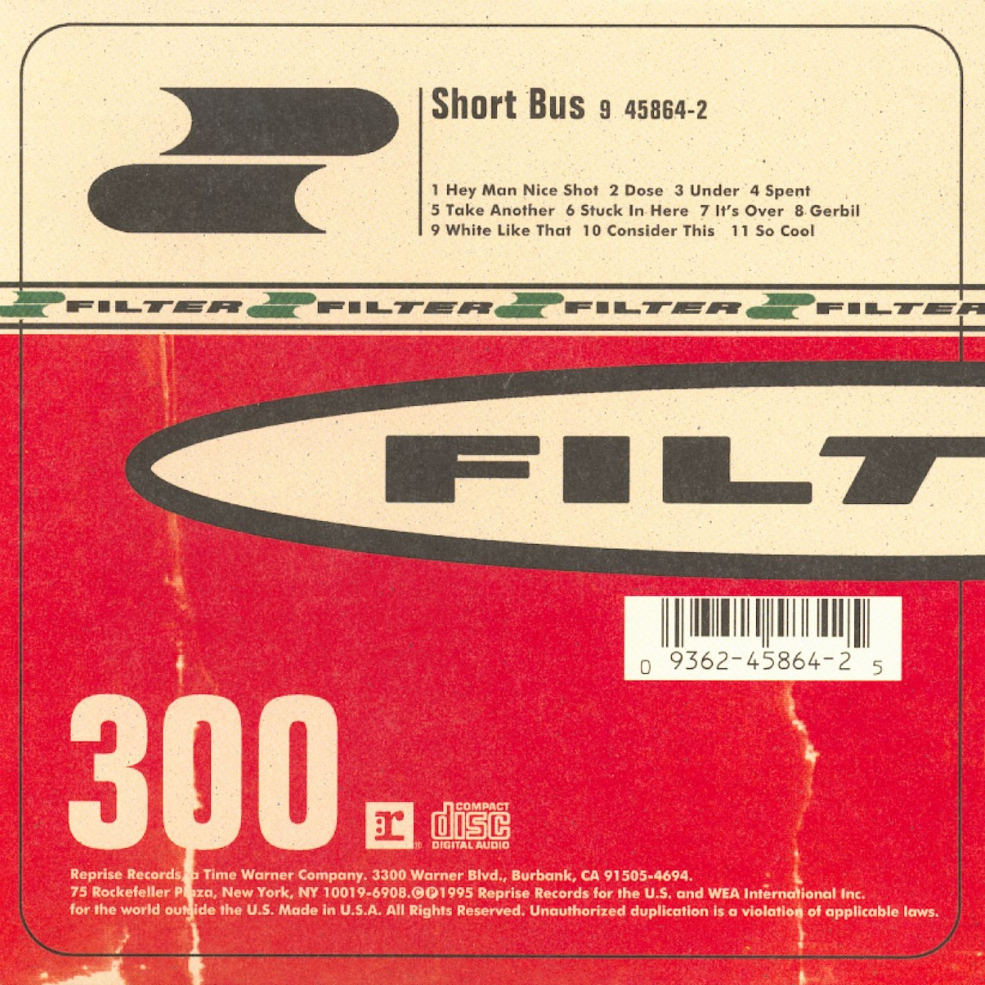 Filter - Short Bus (CD)