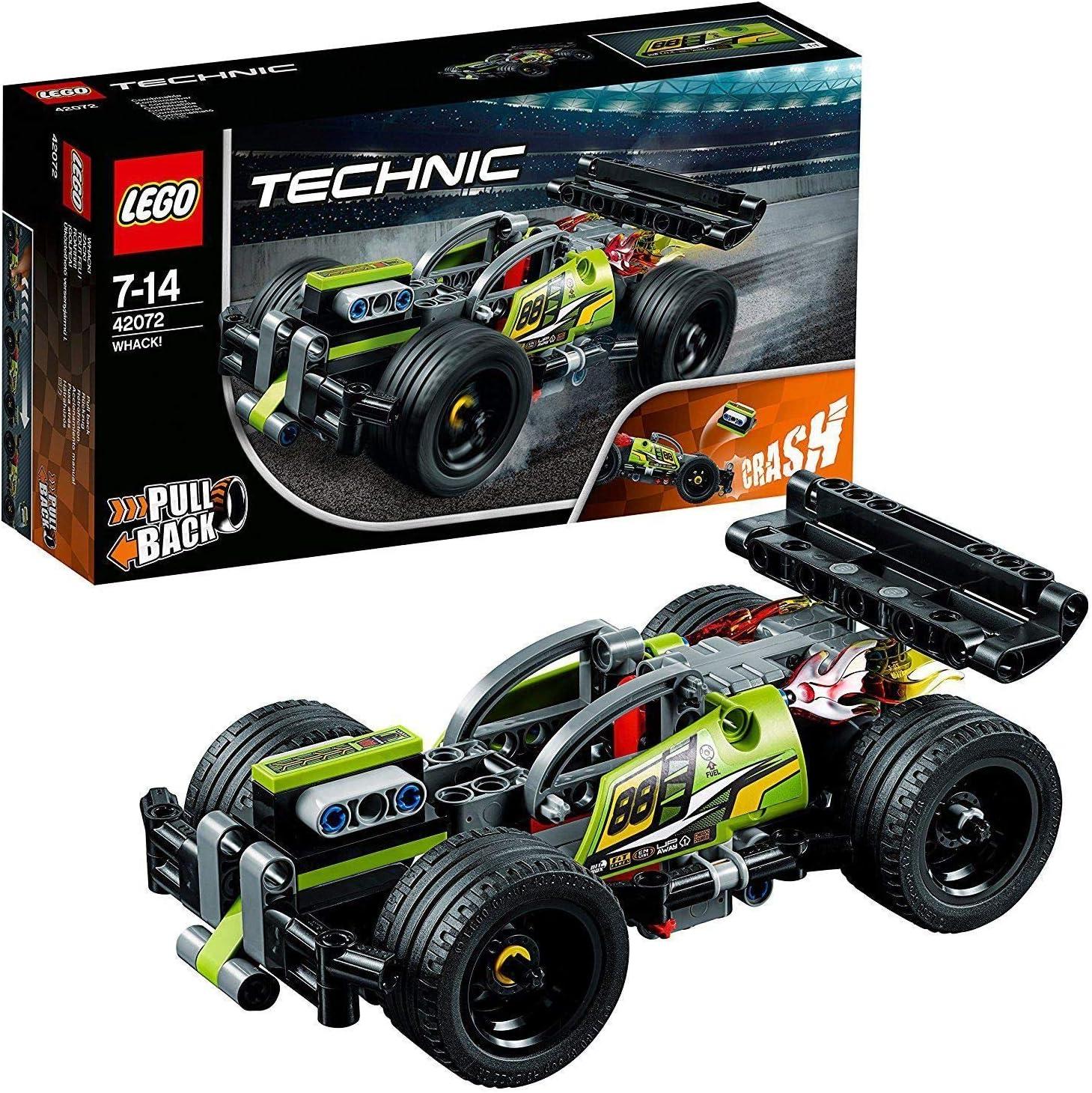 LEGO Technic - ¡GOLPEA! Coche de Acrobacias Verde de Juguete para ...