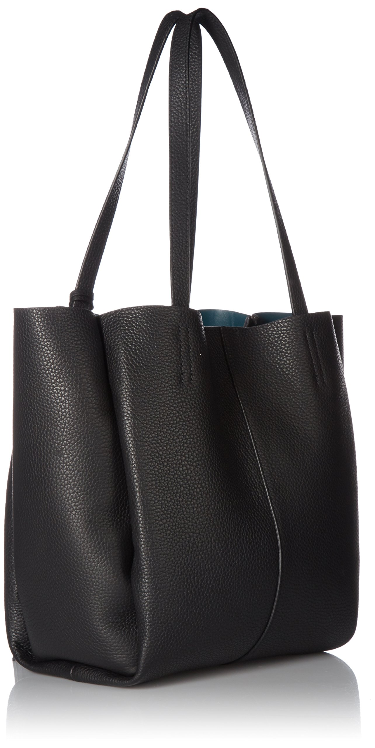 Vince Camuto Nylan Bonded Small Tote, Nero by Vince Camuto (Image #2)