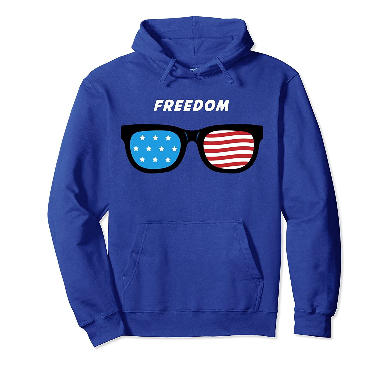 4th July Shirts for Men - Patriotic Shirts Freedom Hoodie-mt