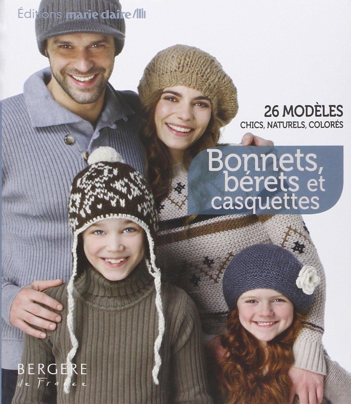 Bonnets Berets Et Casquettes Tricot Crochet 9782848313634 Amazon Com Books