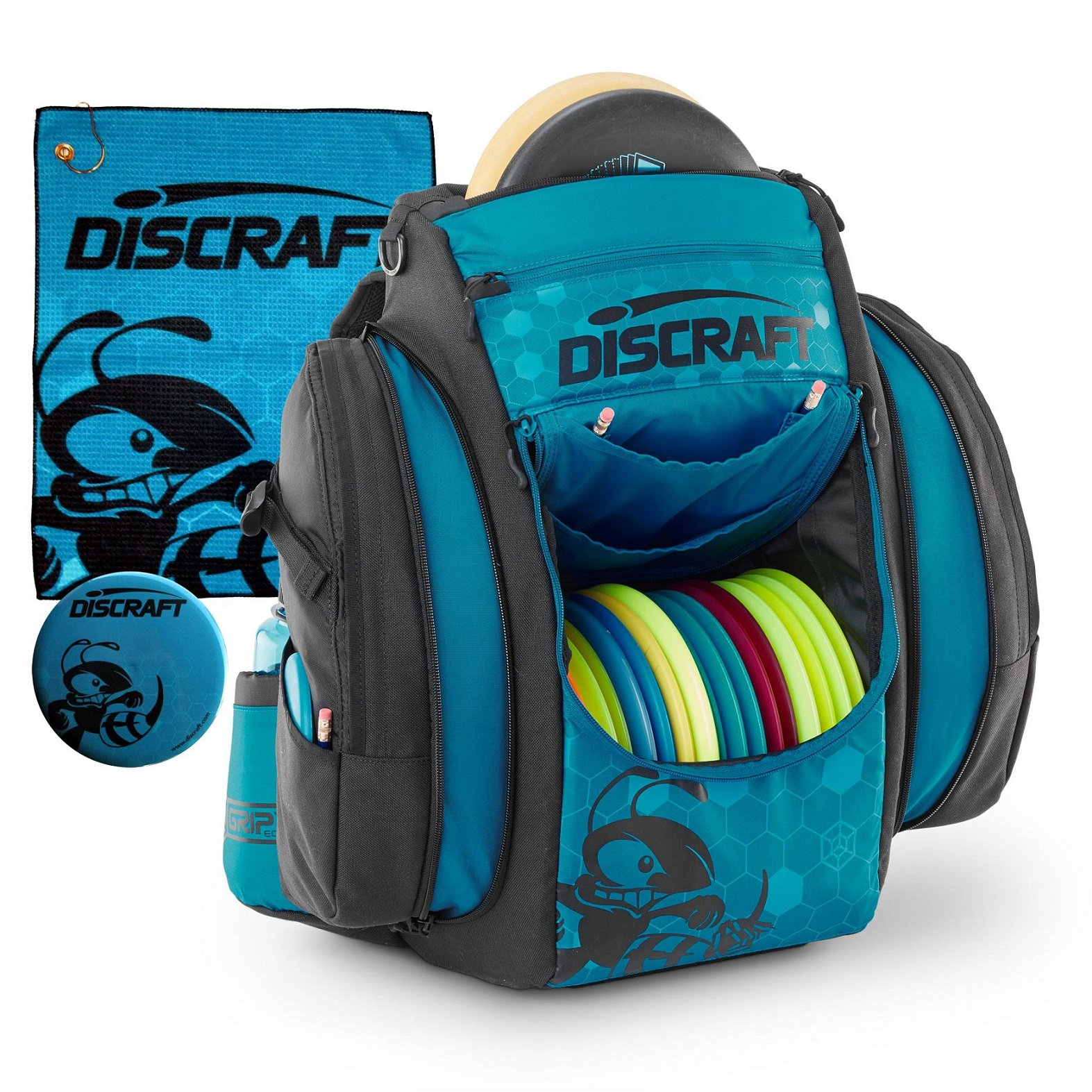 Discraft Grip EQ BX BUZZZ Disc Golf Bag (Ocean) by Discraft
