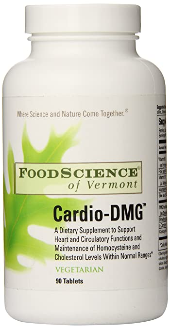 Food Science of Vermont Cardio-DMG, 90 Count