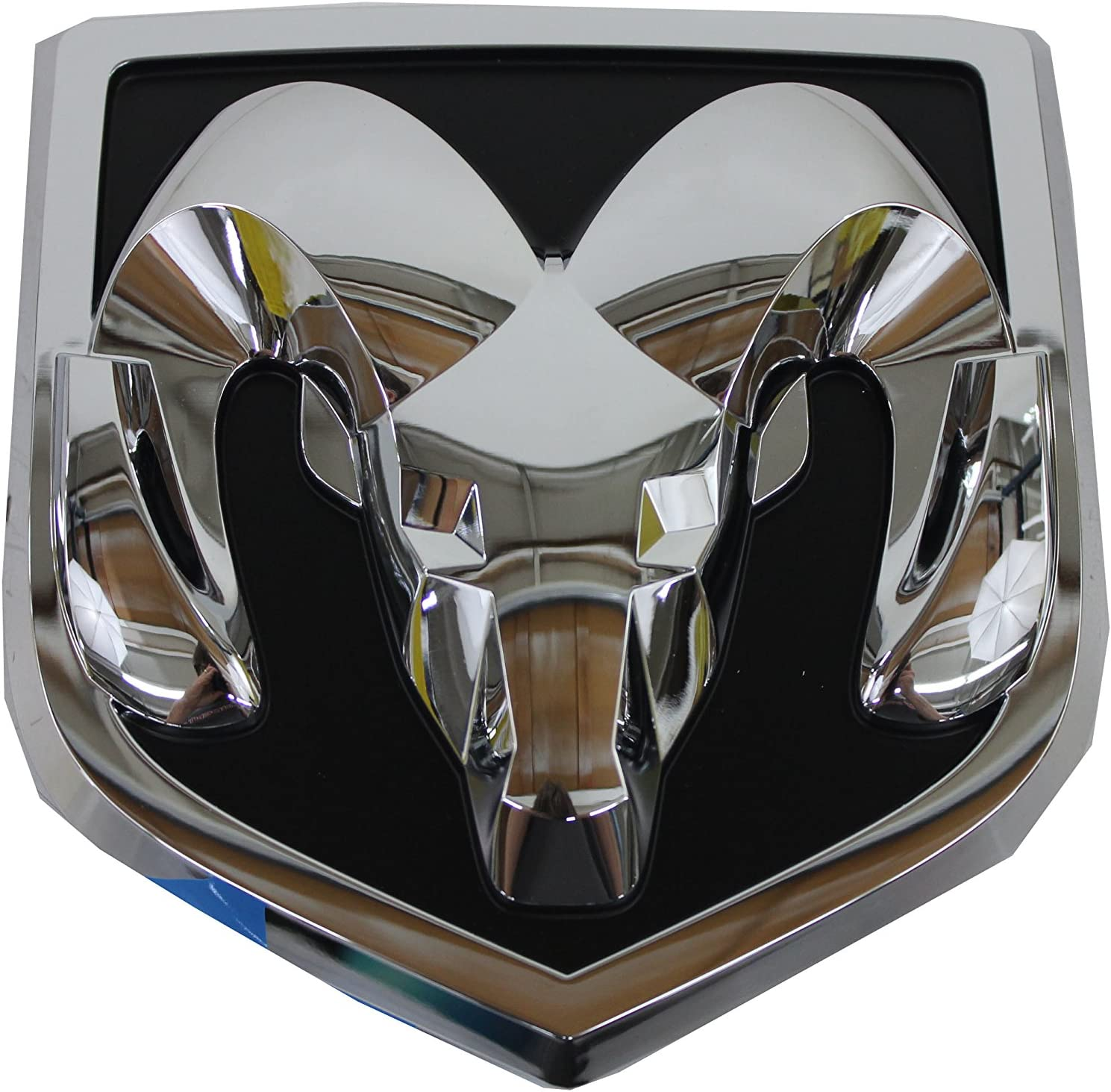 Ram Grille and Tailgate Emblem Medallion for Ram 1500 2500 3500 Glossy Black