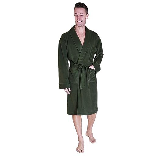 869f69ae97 Cherokee Men s Lux Plush Robe at Amazon Men s Clothing store