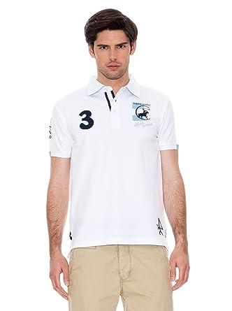 Valecuatro Polo Logo Argentina Caballo Blanco L: Amazon.es: Ropa y ...