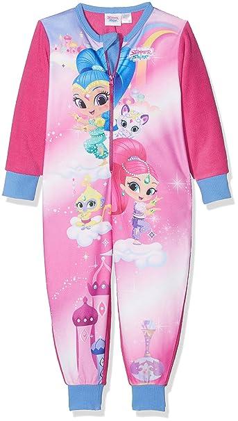 Shimmer And Shine Character, Pijama de Una Pieza para Niñas: Amazon.es: Ropa y accesorios