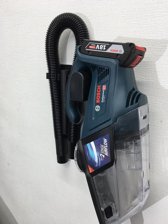 Bosch Soporte de pared para aspirador a batería GAS 18V-1: Amazon.es: Bricolaje y herramientas