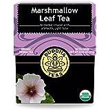 Organic Marshmallow Leaf Tea, 18 Bleach-Free Tea Bags – Caffeine Free Tea Supports Gastrointestinal Issues and Respiratory He