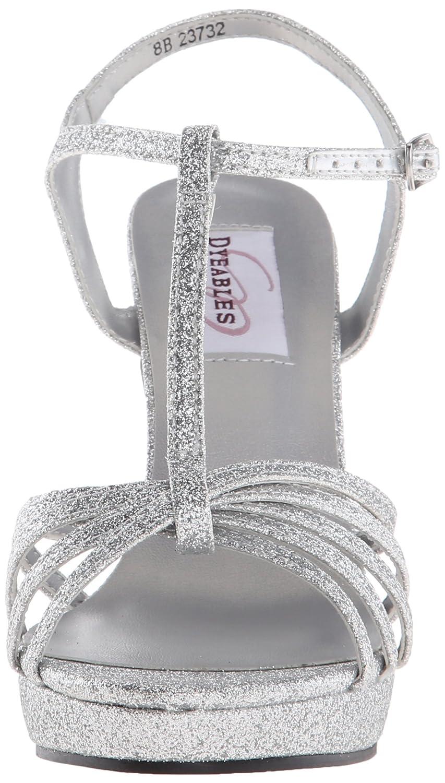 Dyeables, Inc DamenschuheKaylee DamenschuheKaylee Inc - Kaylee Damen Silber Glitter 15fb37
