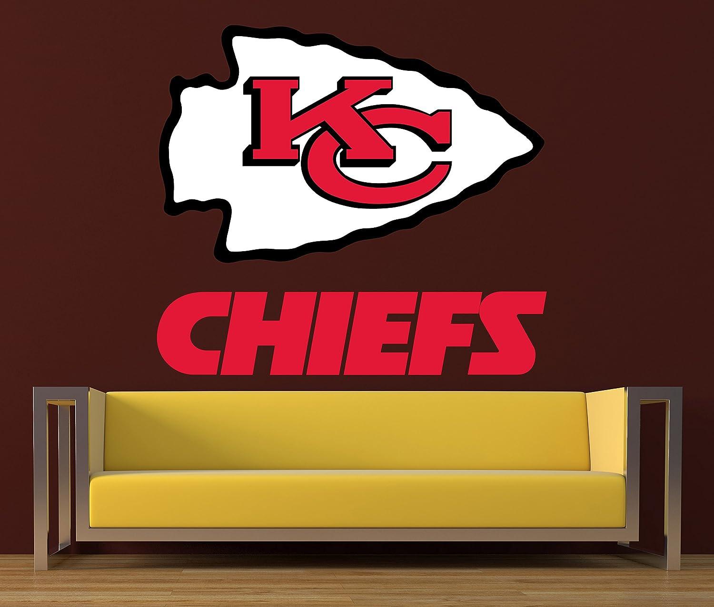 Kansas city chiefs sticker kansas city chiefs sticker chiefs decal chiefs decal chiefs home decor chiefs car sticker nfl kansas city chiefs sticker