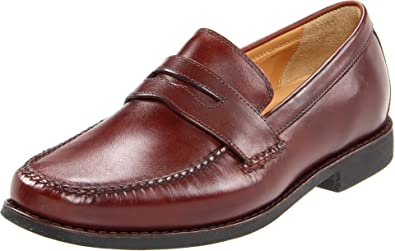 905e4b1fd4a Johnston   Murphy Men s Ainsworth Penny Loafer Antique Mahogany Veal ...