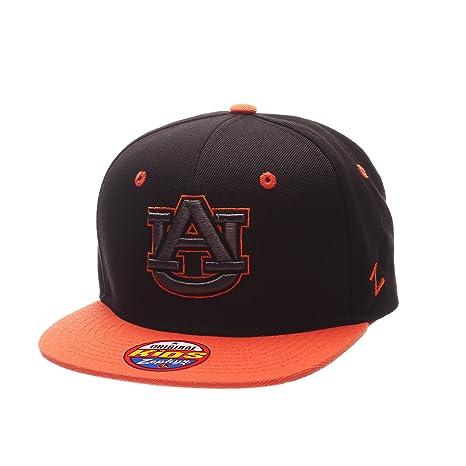 0906124737d80 Zephyr NCAA Auburn Tigers Children Boys Youth Z11 Phantom Snapback Hat