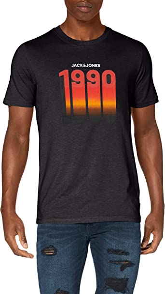 Jack /& Jones Jcohoff tee SS Crew Neck Camiseta para Hombre