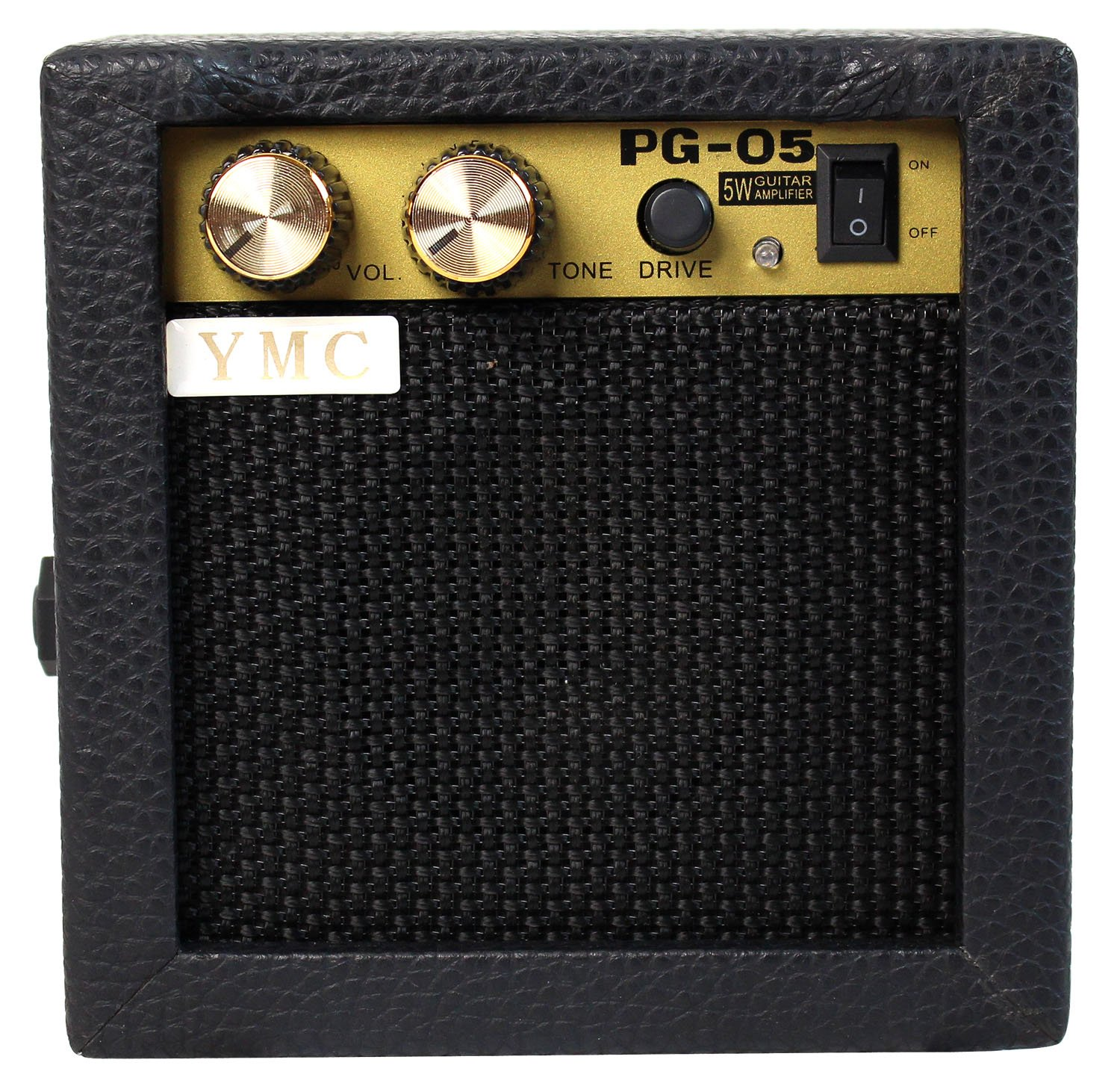 YMC PG-05 5W Electric Guitar Amp Portable Amplifier Speaker with Volume Tone Control