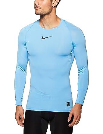 a0a487cf Nike Men's Pro Top Crew Neck Long Sleeve Compression Shirt, Men, Pro ...