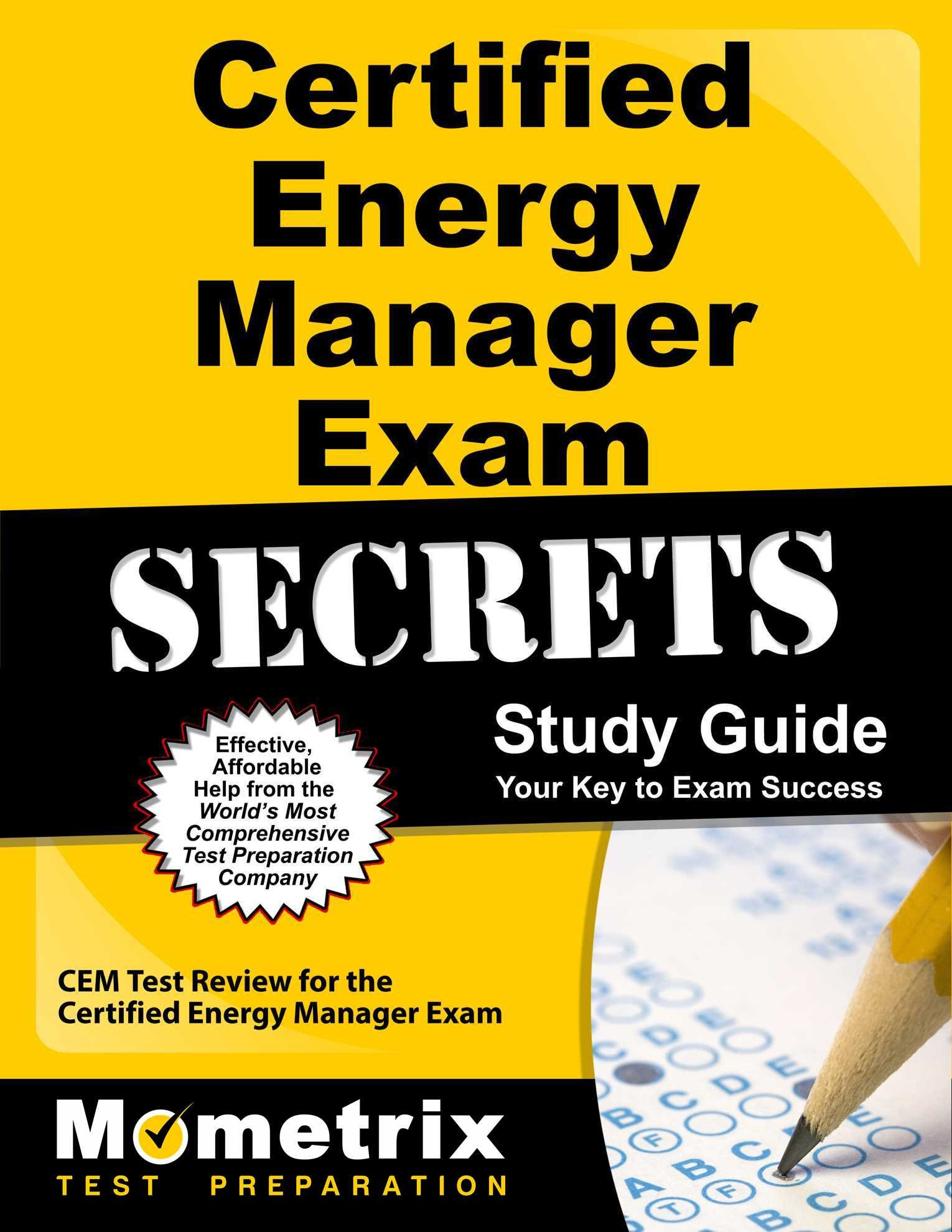 Buy certified energy manager exam secrets study guide cem test buy certified energy manager exam secrets study guide cem test review for the certified energy manager exam your key to exam success book online at low xflitez Images